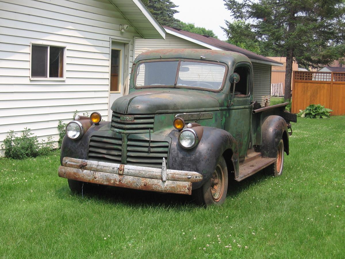 Vintage Cars 1941 Gmc Pickup Truck 42