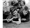 Kids Playing Marbles