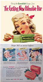 Palmolive and Lifebuoy soap ad